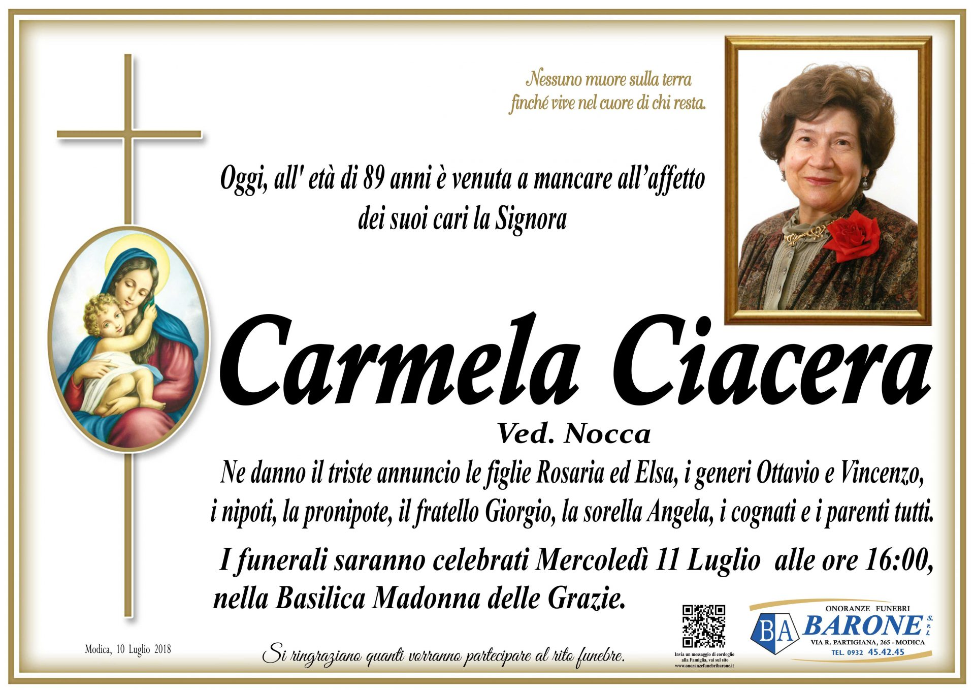 Carmela Ciacera