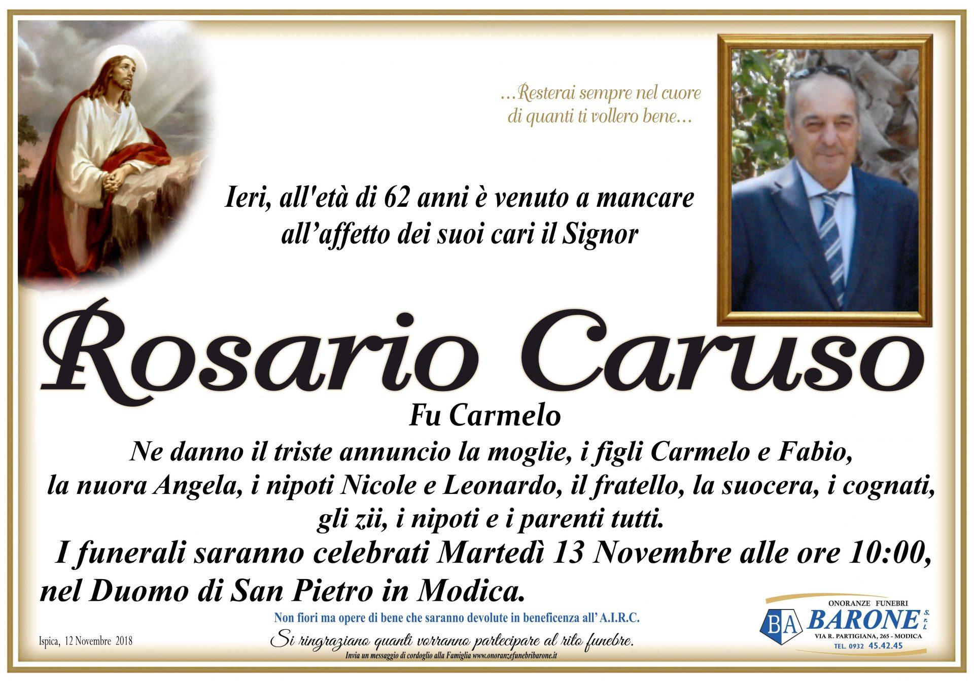 Rosario Caruso