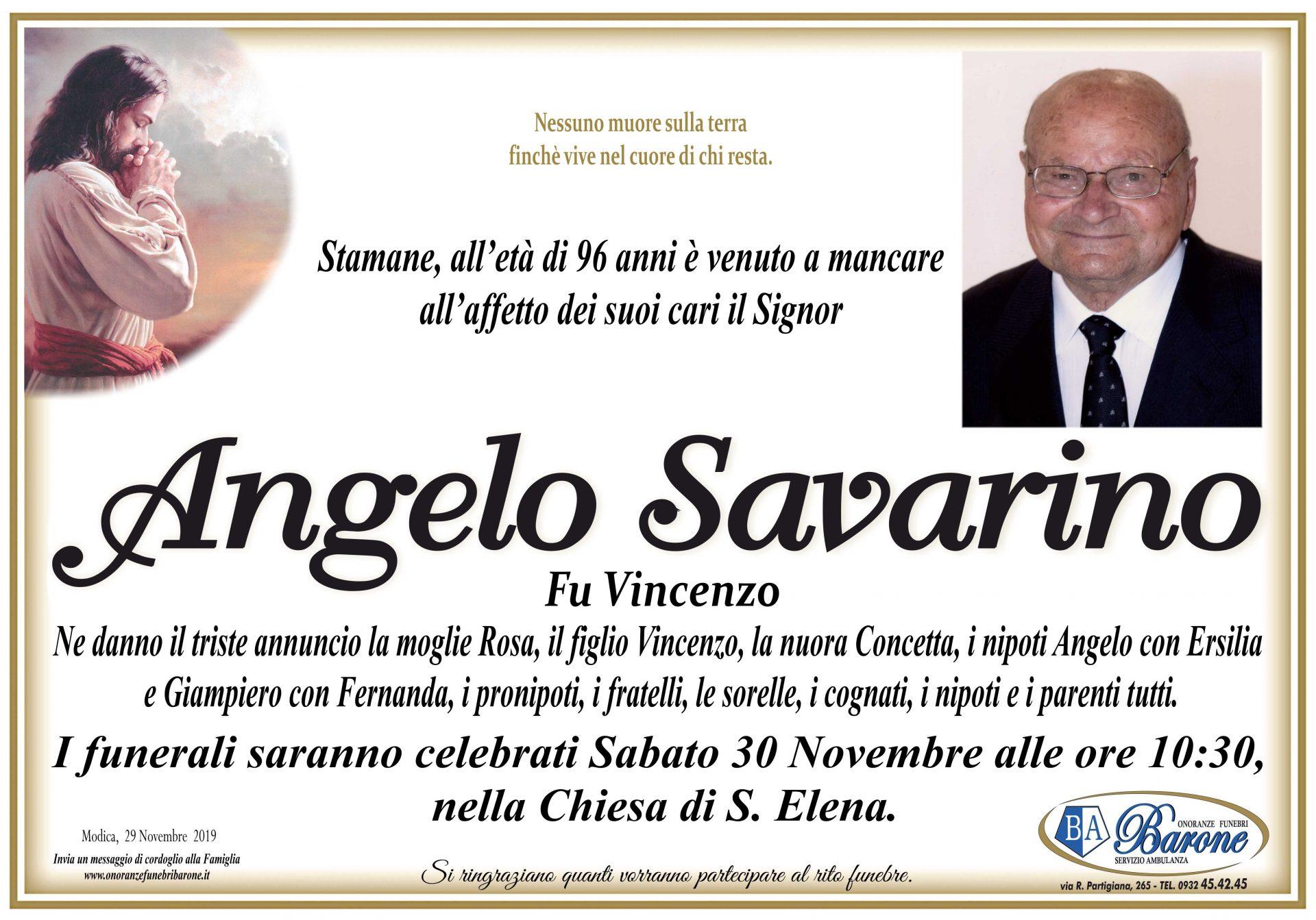 Angelo Savarino
