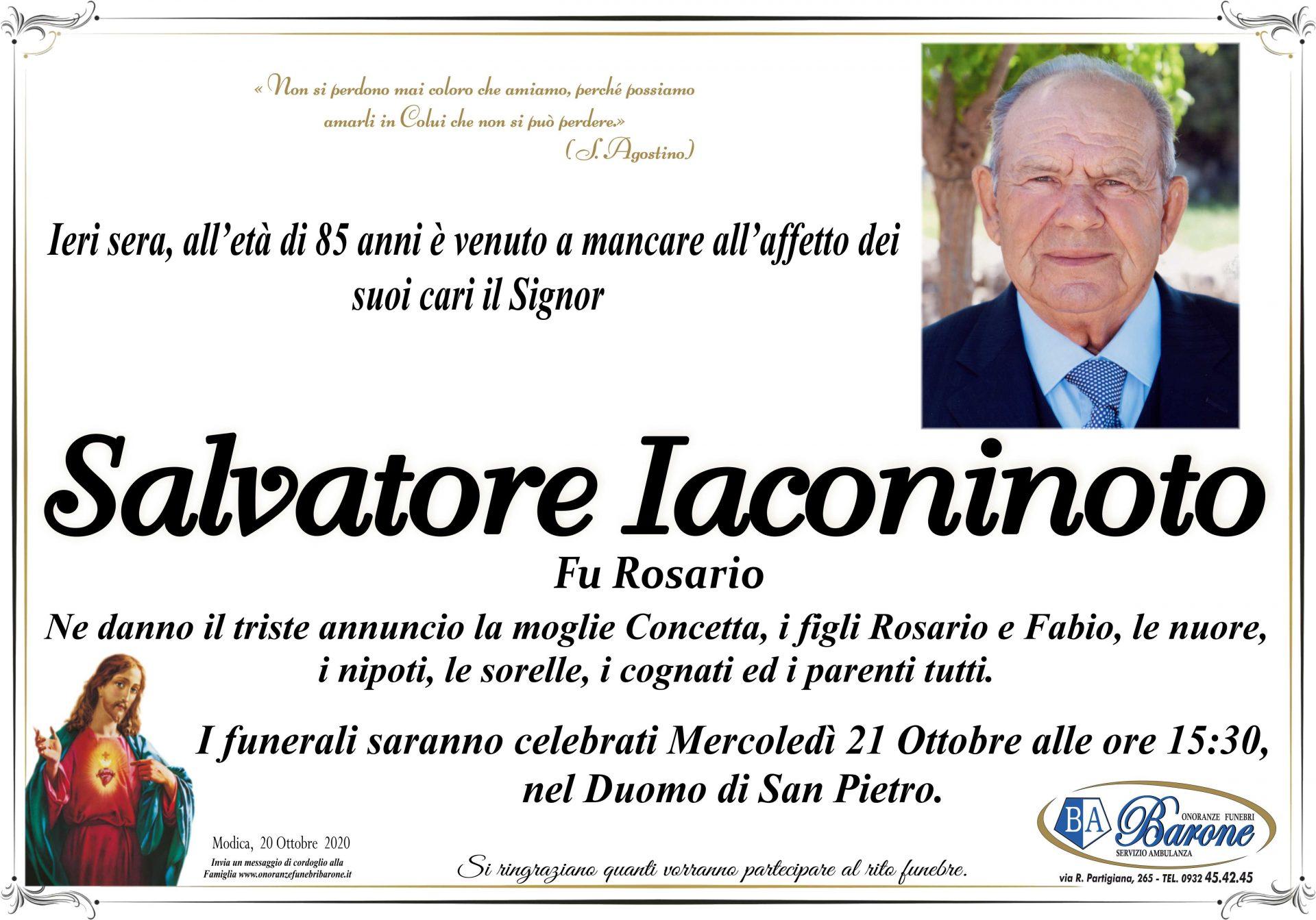 Salvatore Iaconinoto