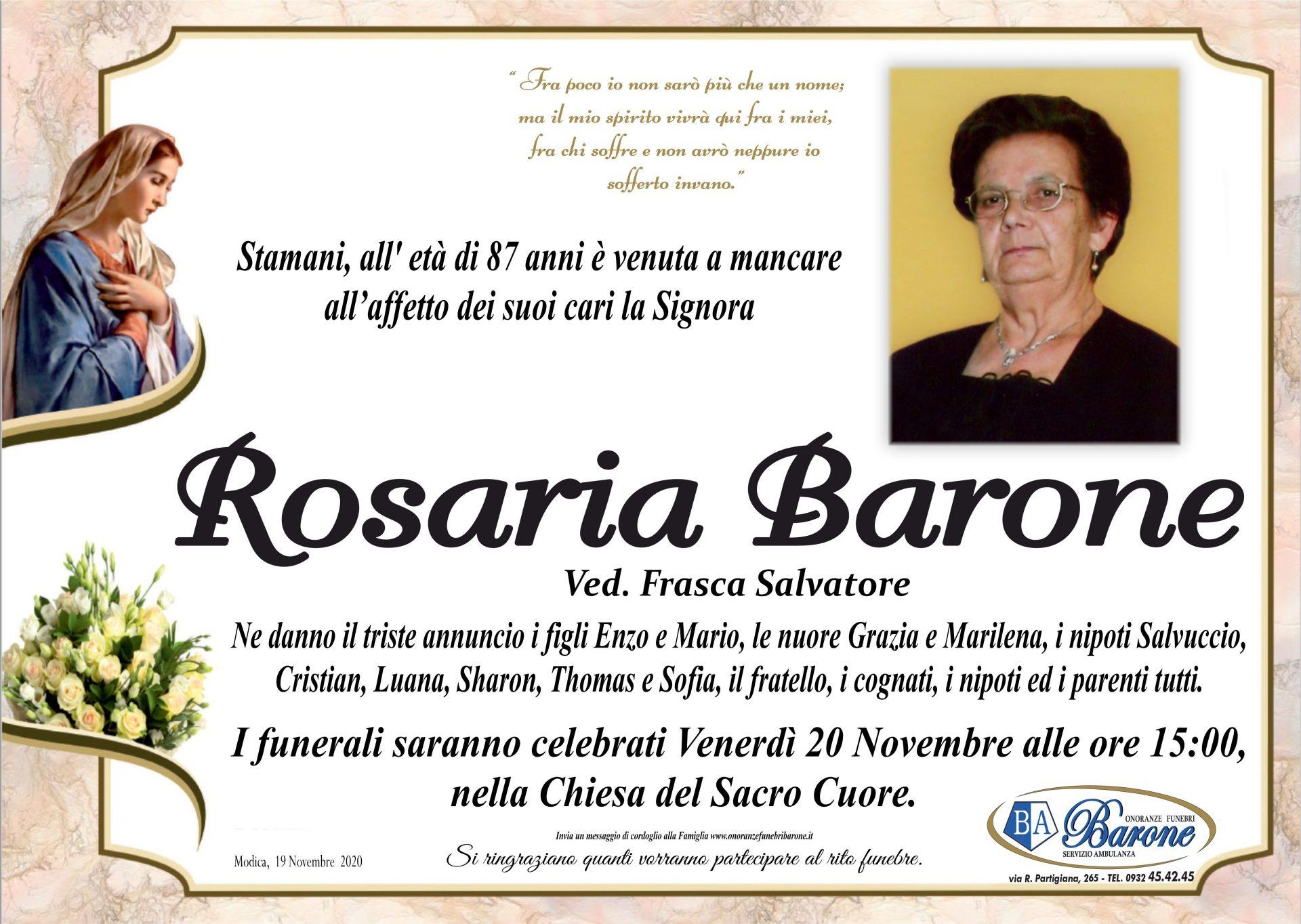 Rosaria Barone