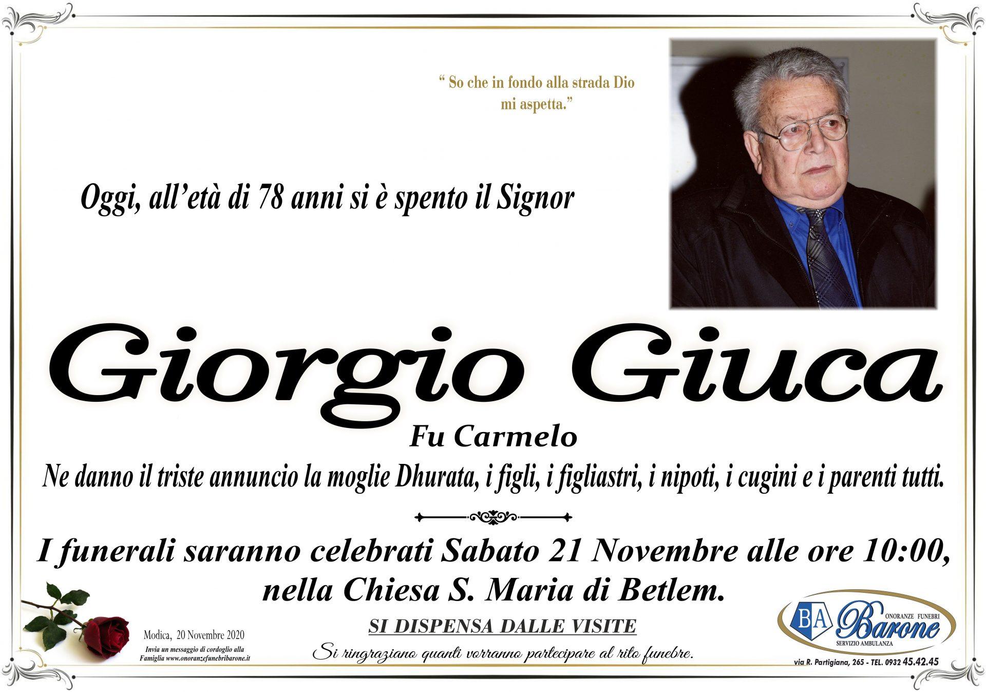 Giorgio Giuca