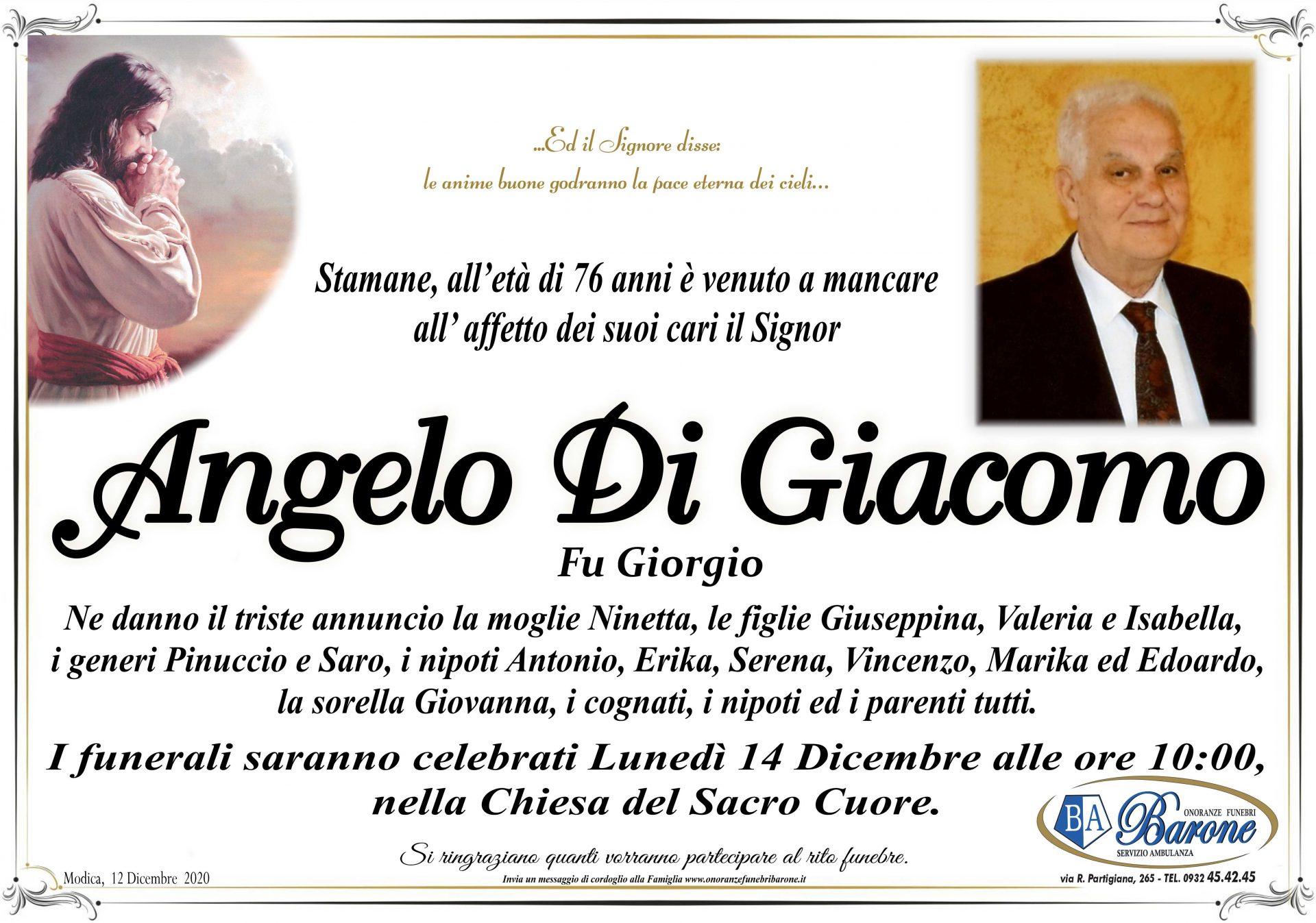 Angelo Di Giacomo