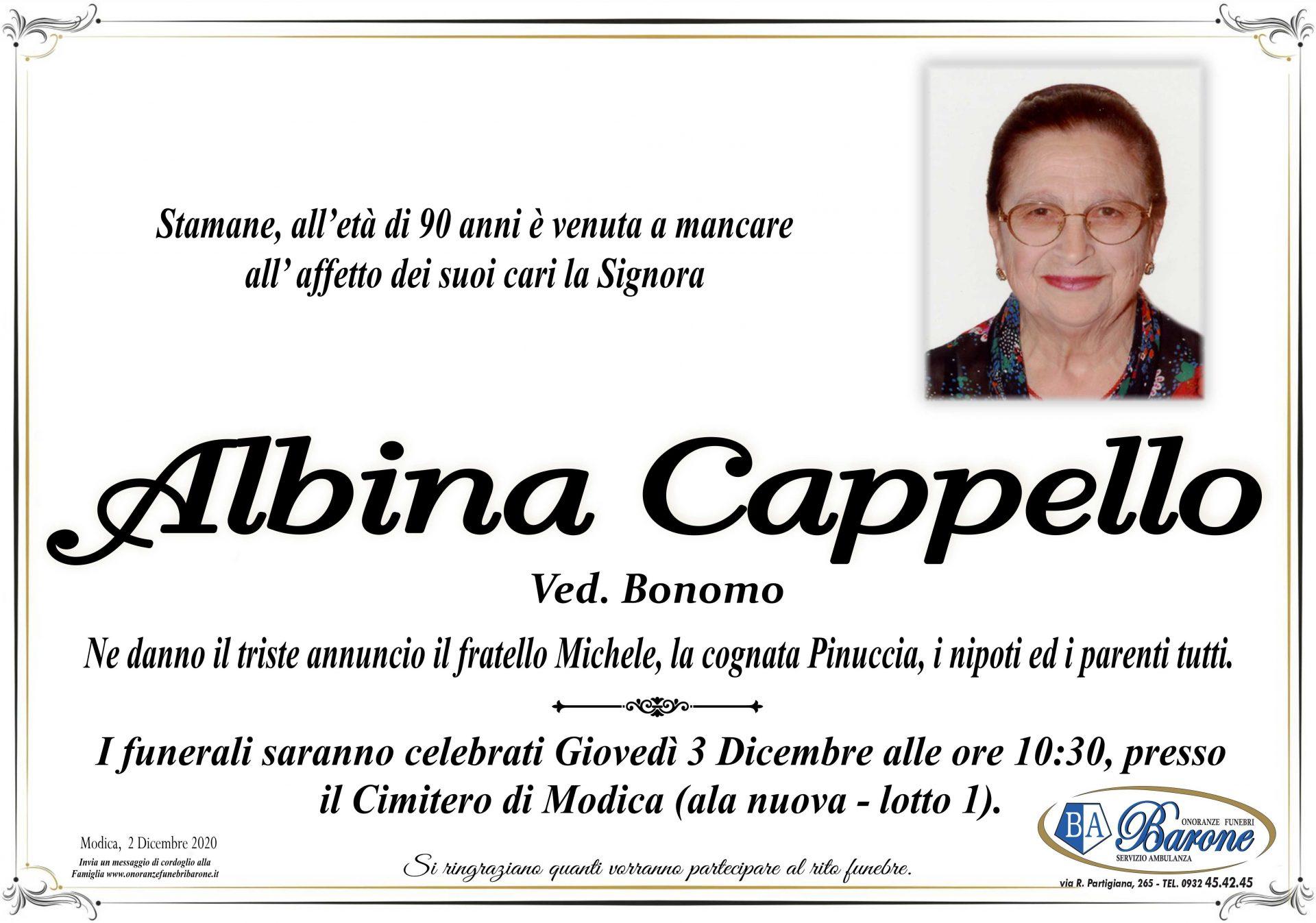 Albina Cappello
