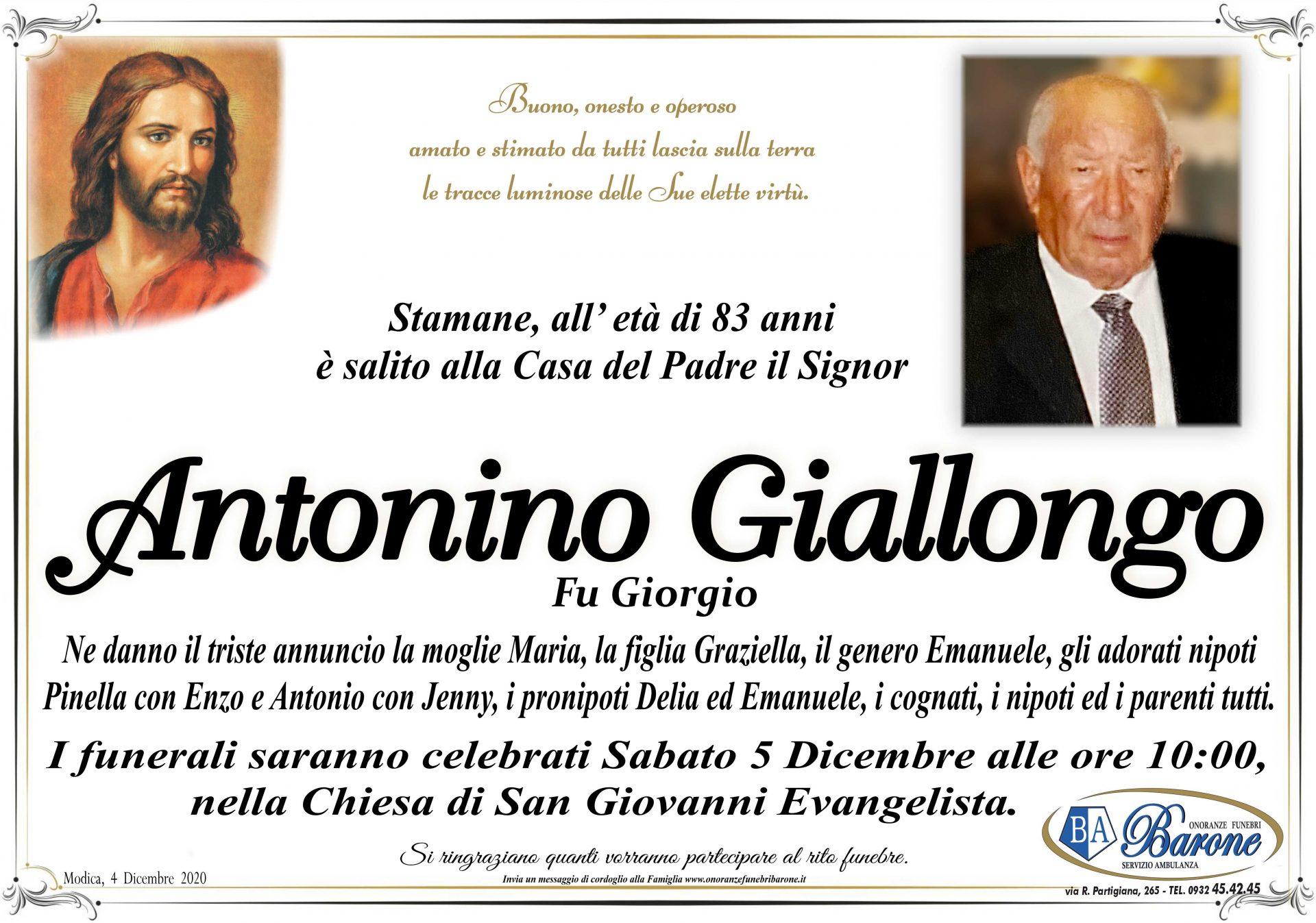 Antonino Giallongo
