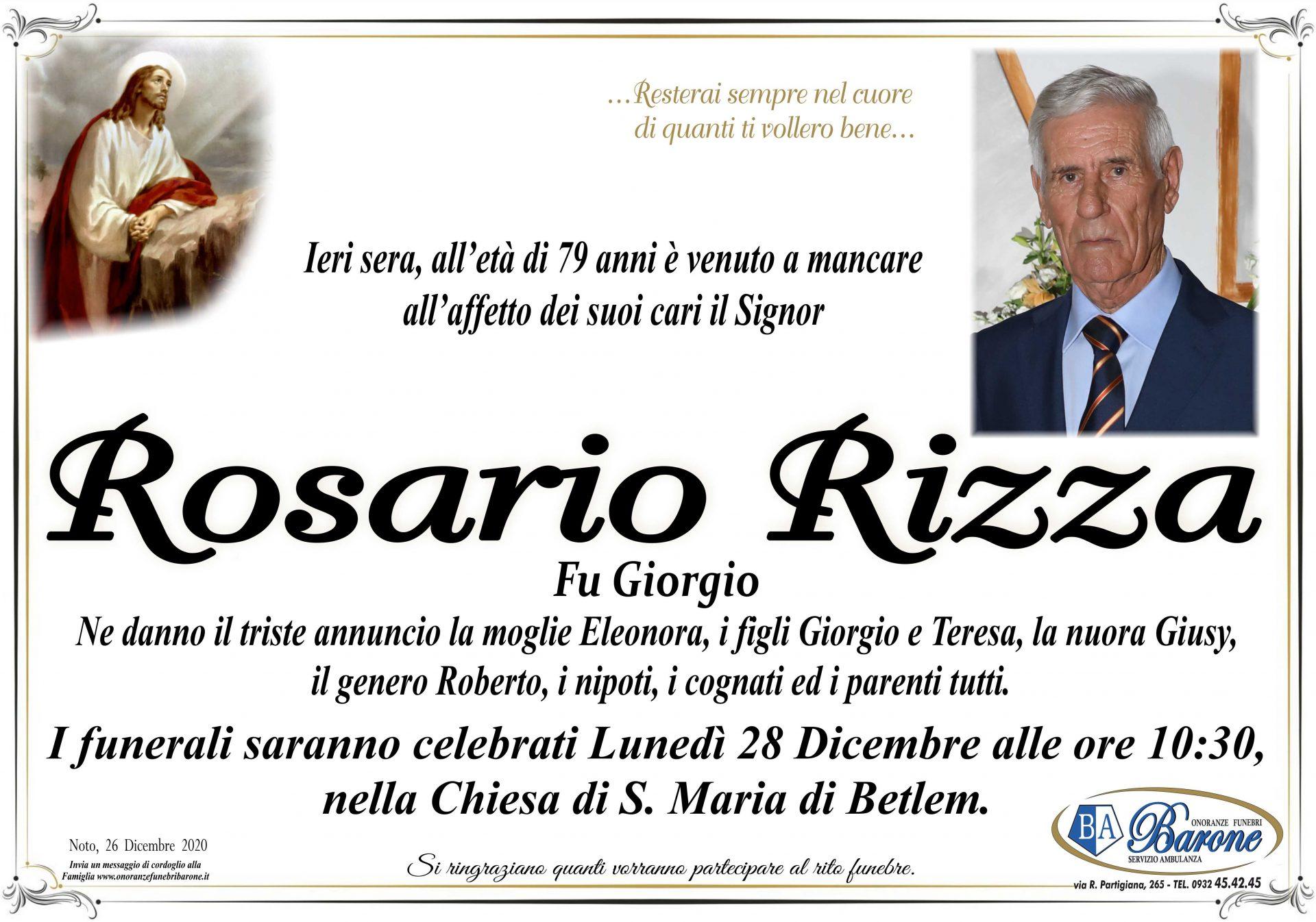 Rosario Rizza