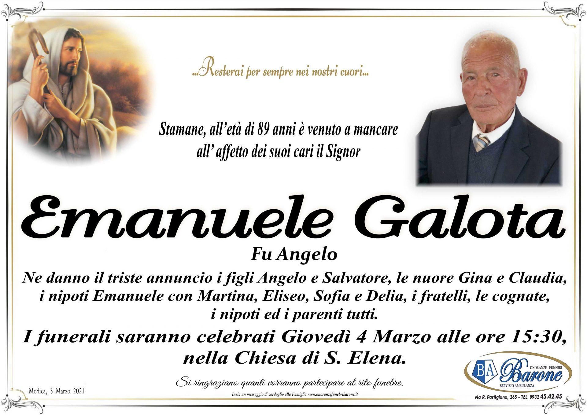 Emanuele Galota
